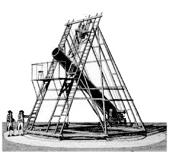 William Herschel's 40-foot Telescope